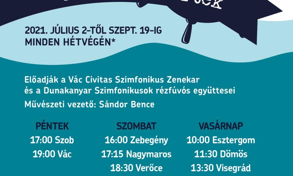 Zenélő Dunakanyar Kikötőkoncertek